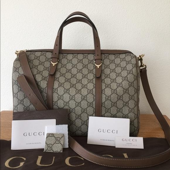 3a232703b62 Gucci Handbags - 🌺HP🌺 GUCCI Nice GG Supreme Boston bag